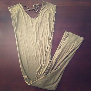NWT Olive Green Maxi Dress